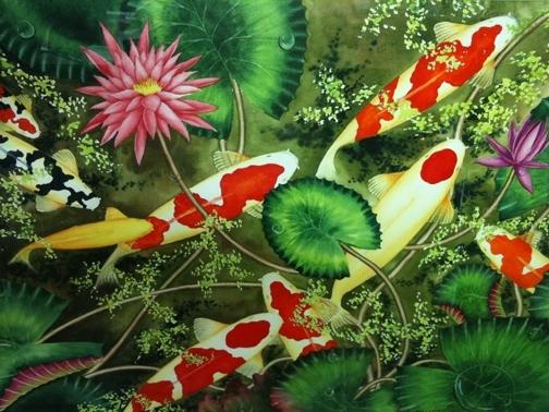 ปลามงคลประจำวันตรุษจีน